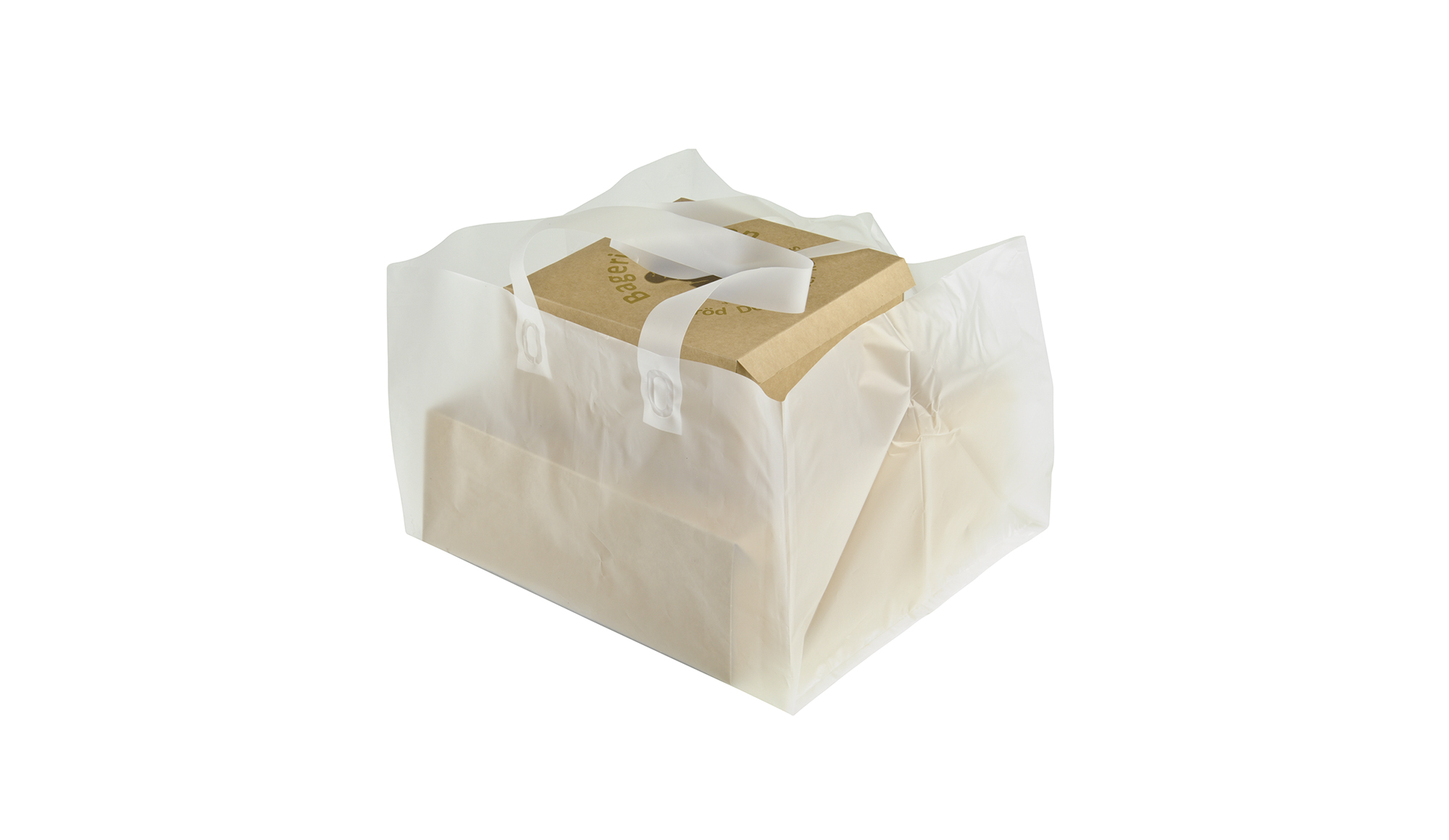 4000017 Carrier bag for pastry with square bottom