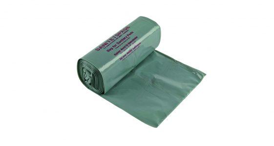 6000012 Sanitary plastic bag on roll