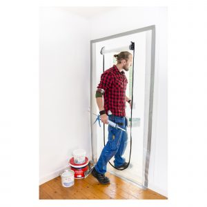 Dust door protects against dust, dirt and smell