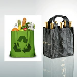ECO-friendly Non Woven Grocery and wine bags
