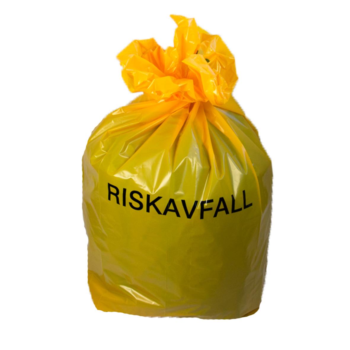 säck för riskavfall