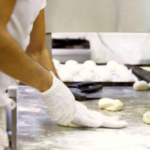 Vinyl gloves for bakers by Polynova Nissen USA