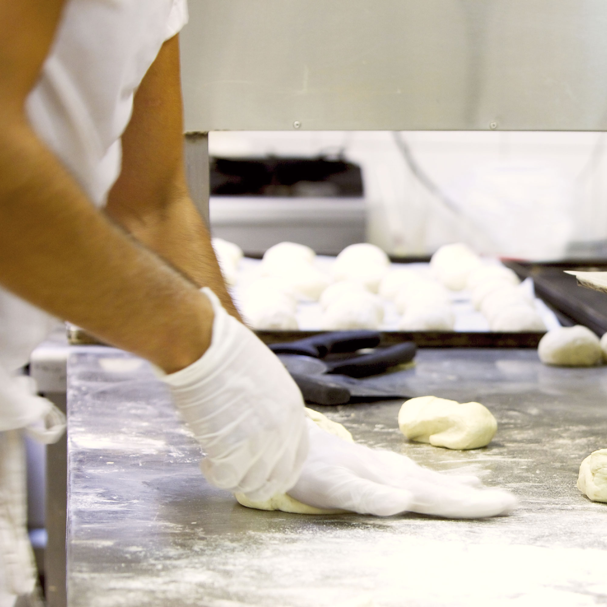 Vinyl gloves for bakers by Polynova Nissen USA