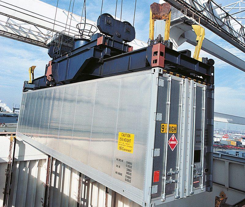 lyft av container
